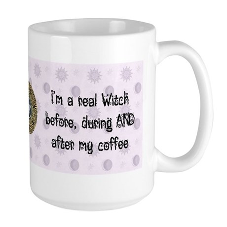 I'm a real witch - coffee mug