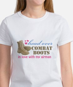 Funny Airmans girlfriend Tee