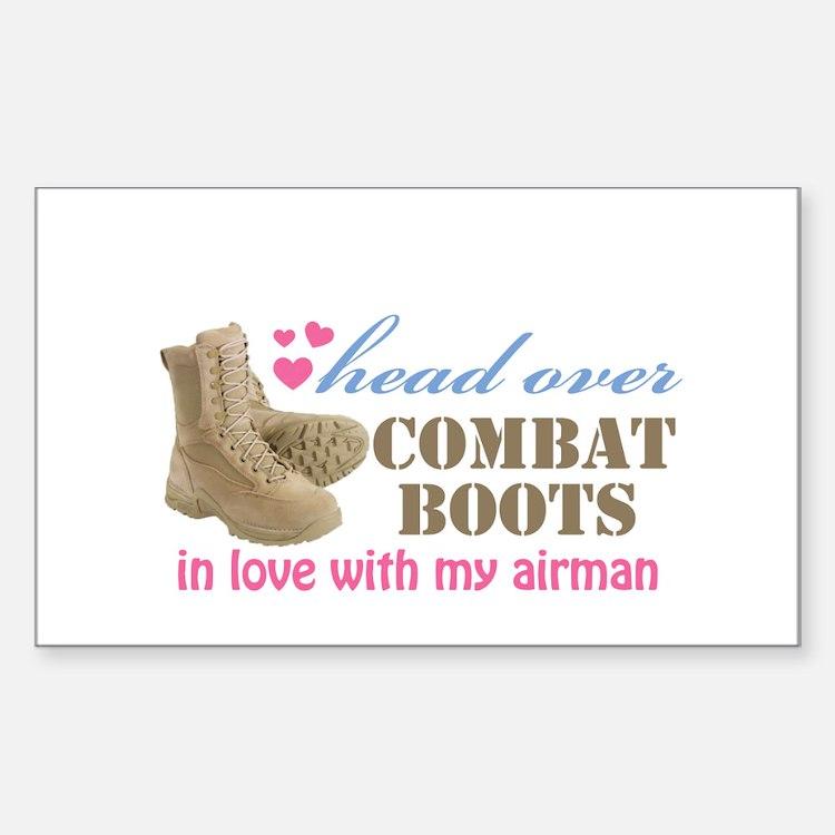 Cute Airman heart Decal