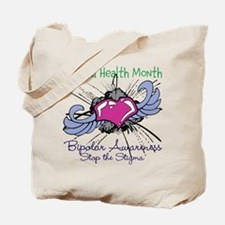 Mental Health Month BASTS Tote Bag
