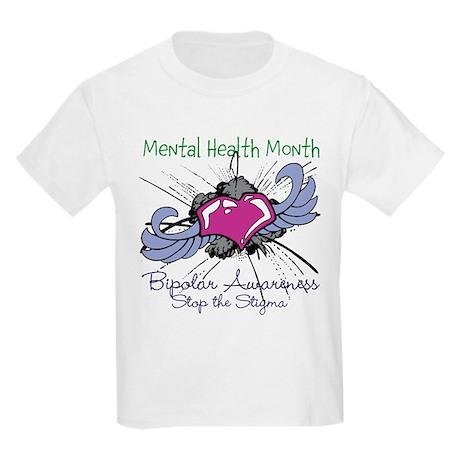 Mental Health Month BASTS Kids Light T-Shirt