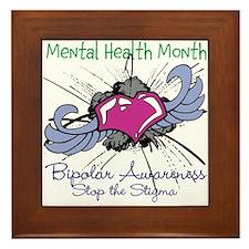 Mental Health Month BASTS Framed Tile