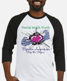Mental Health Month BASTS Baseball Jersey