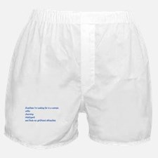 qualities in a woman Boxer Shorts