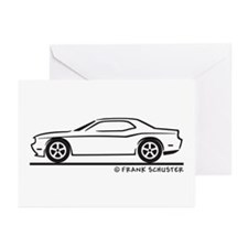New Dodge Challenger Greeting Cards (Pk of 20)