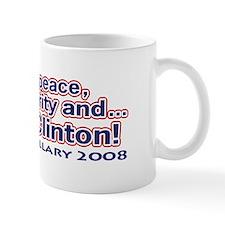 Miss Peace Prosperity & Bill Mug