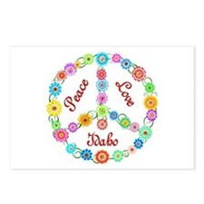 Peace Love Idaho Postcards (Package of 8)