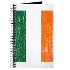 Vintage Irish Flag Journal