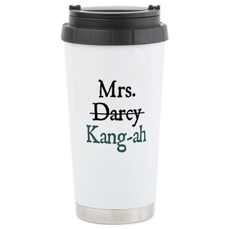 Mrs. Kang-ah Stainless Steel Travel Mug