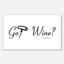 Got Wine? Rectangle Decal