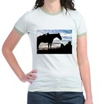 Cowboy Sunset Jr. Ringer T-Shirt