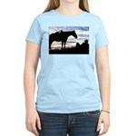 Cowboy Sunset Women's Pink T-Shirt