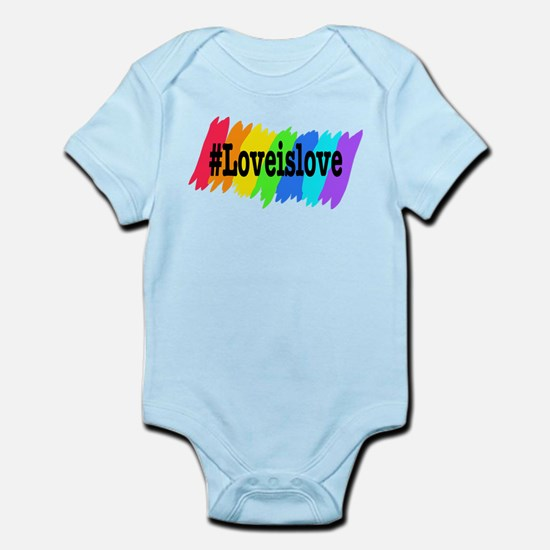 Love is Love Marriage Equality Body Suit