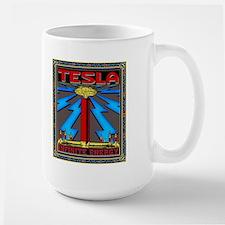 TESLA COIL Large Mug