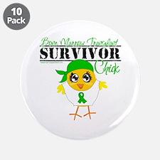 "Bone Marrow Transplant 3.5"" Button (10 pack)"