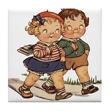Kids Walking Tile Coaster