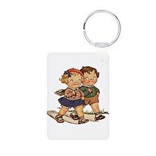 Kids Walking Keychains
