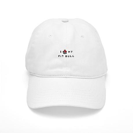 I *heart* My Pit Bull Cap