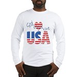 God Bless the USA Long Sleeve T-Shirt