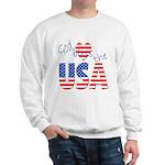 God Bless the USA Sweatshirt