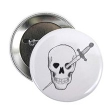 Skull &b Dagger Button