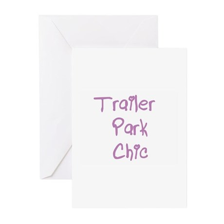 Trailer Park Chic Greeting Cards (Pk of 10)