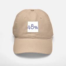 48 Percent Baseball Baseball Cap