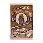 1883 Almanac Cover Mini Poster Print