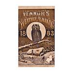 1883 Almanac Cover Sticker (Rectangle 50 pk)