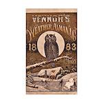 1883 Almanac Cover Sticker (Rectangle 10 pk)