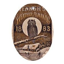 1883 Almanac Cover Ornament (Oval)