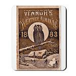 1883 Almanac Cover Mousepad