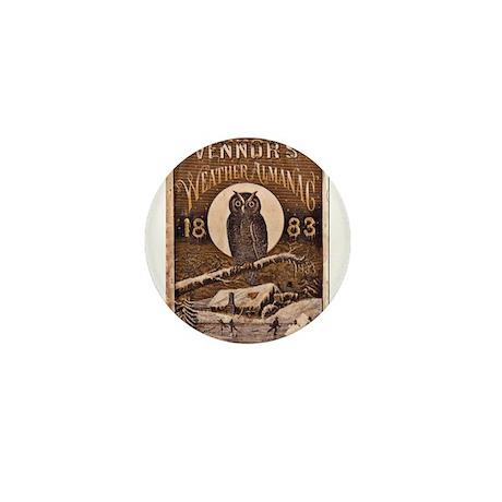 1883 Almanac Cover Mini Button (10 pack)