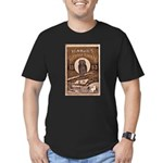1883 Almanac Cover Men's Fitted T-Shirt (dark)