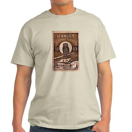 1883 Almanac Cover Light T-Shirt