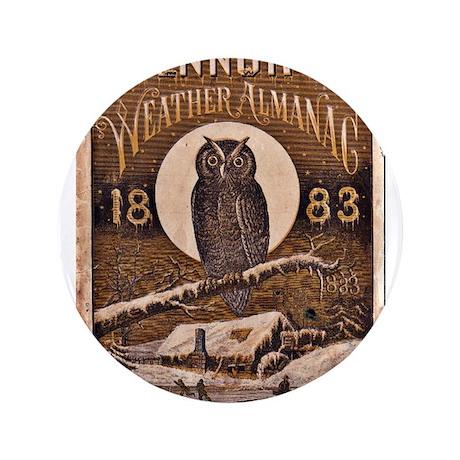 "1883 Almanac Cover 3.5"" Button (100 pack)"
