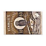 1883 Almanac Cover 22x14 Wall Peel