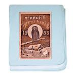 1883 Almanac Cover baby blanket