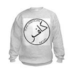 Pure Infidel (Black Logo) Kids Sweatshirt