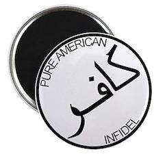 Pure Infidel (Black Logo) Magnet
