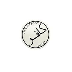 Pure Infidel (Black Logo) Mini Button (100 pack)