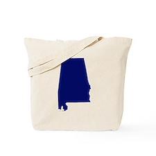 Alabama - Blue Tote Bag