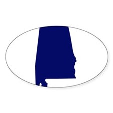 Alabama - Blue Decal