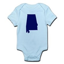 Alabama - Blue Onesie