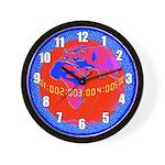 "PLANETARY SERIES:  ""Earth Watch"" Wall Clock"