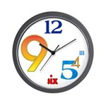 SERIES G:  Modern Wall Clock