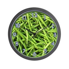 <b>FRUIT & VEGGIE SERIES:</b> Green Beans W. Clock