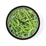FRUIT & VEGGIE SERIES:  Green Beans W. Clock