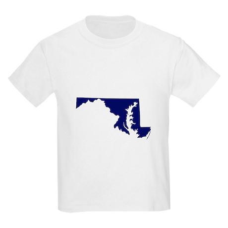 Maryland - Blue Kids Light T-Shirt