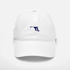 Maryland - Blue Baseball Baseball Cap